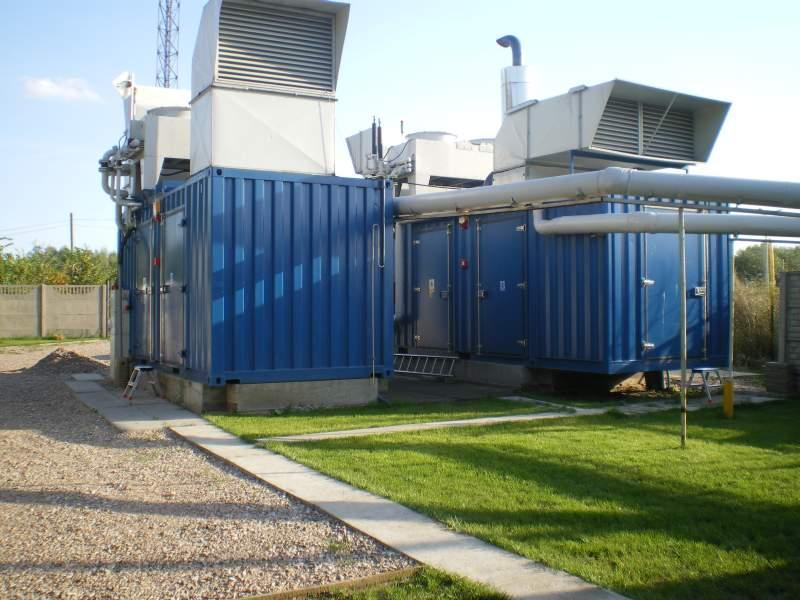 Elektrownia biogazowa Krzyżówka, 720 kW