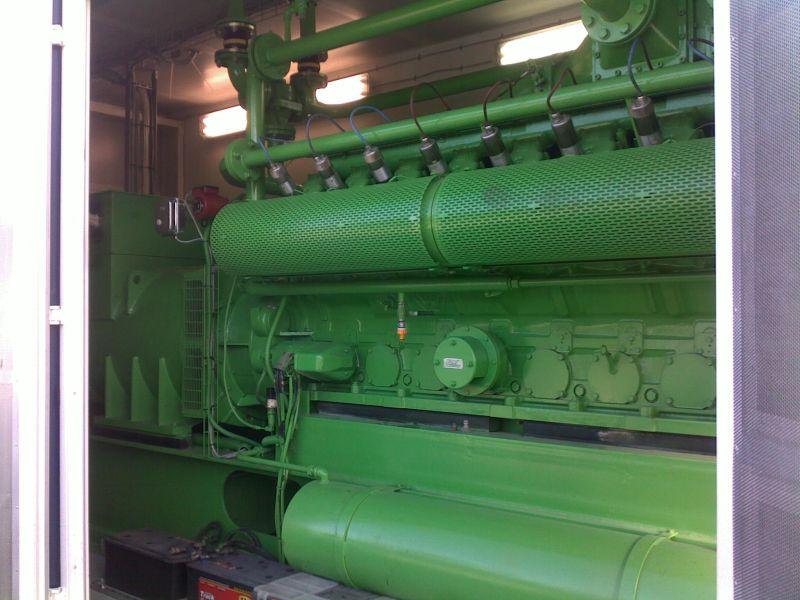 Elektrownia biogazowa Pruszków-Gąsin, 650 kW