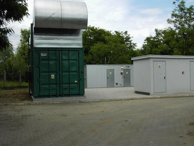 Elektrownia biogazowa w Biechowie. 450 kW